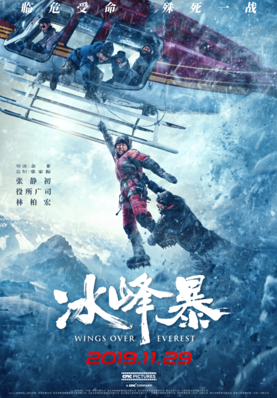 Wings Over Everest Poster